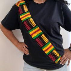 Items similar to Kente African Ankara Dashiki shirt Rasta ethnic tribal black panther Jamaican reggae african print kitenge embroidered shirt on Etsy African Fashion Ankara, African Inspired Fashion, Latest African Fashion Dresses, African Print Fashion, African Attire, African Wear, African Dress, African Shirts For Men, African Clothing For Men