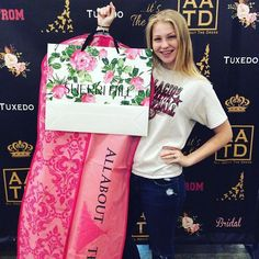 Congratulations Mackenzie on finding your beautiful Sherri Hill prom gown! We can't wait to see pictures of how gorgeous you look on prom night!thank you for choosing All About The Dress as your Prom go to #prom2017 #allaboutthedress #sherrihill #aatdbeauty http://ift.tt/2oEkzGv - http://ift.tt/1HQJd81