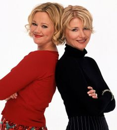 Played by: Caroline Rhea (left, Hilda) and Beth Broderick (right, Zelda)  Sabrinas aunts and caretakers, Hilda was flighty, frivolous and loved to get into mischief. Her magic was always accompanied by a puff of smoke and a gong sound. Zelda was wiser and more mature. Her magic was always accompanied by purple sparks.