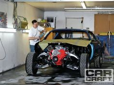Home Garage Paint Booth - How to Prep Your Garage for Painting Cars at Home - Car Craft Magazine