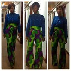 CELEB STYLE: Wearing The African Print The Ama K Abebrese's Way…