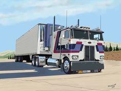 Truck Art, Trucks, Vehicles, Tractors, Truck, Cars, Vehicle