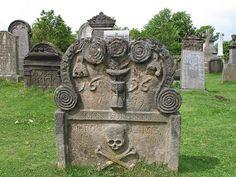 Old Grave Stone, Scotland