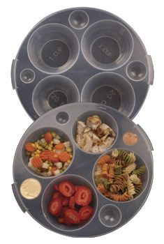 need this! weight management plates to control portion size. genius! $29