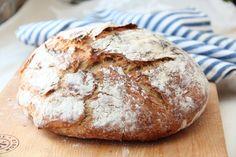 eltefritt landbrød Baking, Recipes, Pasta, Bakken, Rezepte, Bread, Backen, Ripped Recipes, Noodles