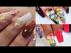 Nail art Designs/Nail art ideas and tips using Ciara`s Nails Glitter world/Ideas en uñas acrilicas Nail Art Videos, Glitter Nails, Nail Art Designs, Art Ideas, Create, Tips, Youtube, Fingernail Designs, Glue On Nails