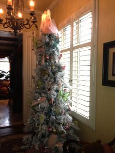 A child's tree we decorated