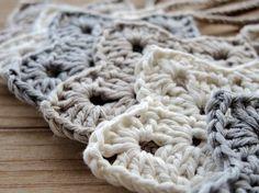 Guirnalda estrellas crochet. Guirnalda habitación por BelleKnitting