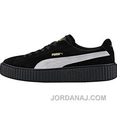http://www.jordanaj.com/puma-by-rihanna-creeper-mens-black-white-online.html PUMA BY RIHANNA CREEPER (MENS) - BLACK/WHITE ONLINE Only $80.00 , Free Shipping!
