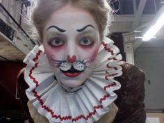 I want this as the face make-up for the White Rabbit because it has the tiredness of the rabbit from always running around and also has the right facial expression that I feel the White Rabbit should have.