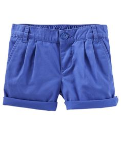 Toddler Girl Chino Shorts | OshKosh.com