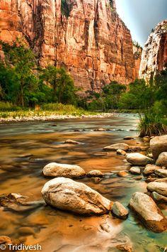 Riverside Walk at Zion National Park