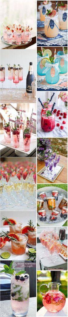 50+ Fruity Signature Wedding Drinks