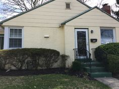 Exterior House Renovation // Upper Providence, PA // Before // Front of House, Windows, and Door