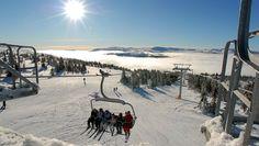 <3 skiing at Kvitfjell