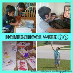 #Homeschool Week 35