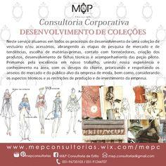 Desenvolvimento de Coleção: Acompanhe o resultado dos serviços prestados em nosso Blog --> www.mepconsultorias.blogspot.com.br
