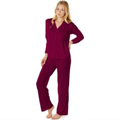 Keep dry throughout the season with these PJs.  Lauren Wicking Pajama Set | Slumbersome