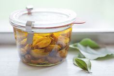 Garlic Confit Recipe - huge fan of garlic and this sounds delicious! via @Robin Sheridan A Chow Life