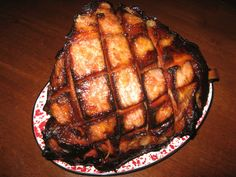 This might be the best smoked ham you've ever eaten! It's marinated, cooked on an electric smoker, and then coated with a crunchy ham glaze. Tips, photos, and detailed instructions included.