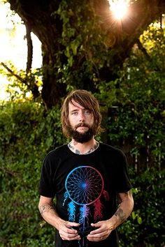 Ben Bridwell also from Band Of Horses (good beard band - try saying that after too much booze). Extra points for the cheeky fringe.