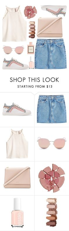 """""""G&P"""" by valemx ❤ liked on Polyvore featuring Sophia Webster, Anine Bing, Stephane + Christian, Kate Spade, Charlotte Tilbury and Gucci"""