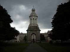 Trinity College. Dublin, Ireland.