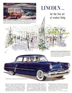 1952 Lincoln Cosmopolitan Four-Door Sedan