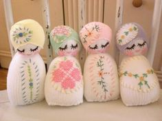 Lavender Sock Baby Rattle by chickabiddybaby on Etsy, $22.00