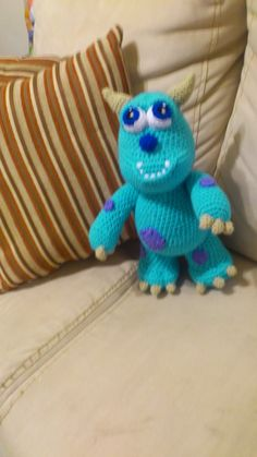 I loved the monster Inc. movies, and here are 15 Monsters Inc. inspired Free Crochet patterns Mike and Sulley Mike Zawosk. Disney Crochet Patterns, Crochet Disney, Crochet Amigurumi Free Patterns, Crochet Dolls, Free Crochet, Crochet Baby, Crochet Beanie, Doll Patterns, Monsters Inc Crochet
