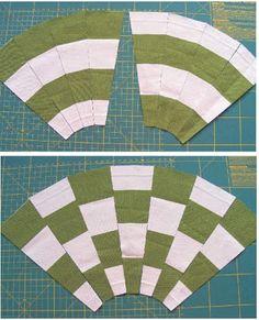 Fun with stripes- Quilting Tutorial /Geta's Quilting Studio