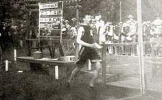 Michel Théato, champion olympique du marathon à Paris en 1900.