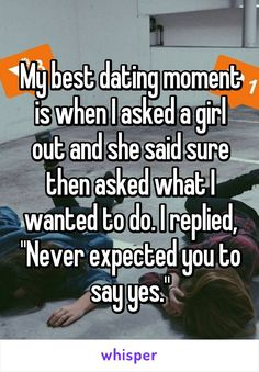 What to say when asking a girl out