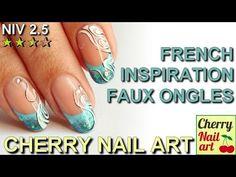 NAIL ART french et abstrait