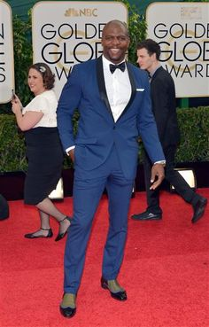 Terry Crews attends the 71st annual Golden Globe Awards held at The Beverly Hilton Hotel in Beverly Hills, Calif., on Jan. 12, 2014.