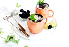 A Delicious Winter Moscow Mule Recipe - The Nest