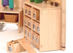 Community Playthings   My box - Lovely idea for the baby room...