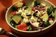 Greek Salad | Make Ahead Meals For Busy Moms