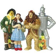Westland Giftware Wizard of Oz Magnetic Four Friends Salt and Pepper Shaker Set, 4-1/2-Inch by Westland Giftware, http://www.amazon.com/dp/B002TTGKB8/ref=cm_sw_r_pi_dp_a1rurb1M615GF