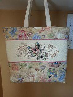 butterfly tote, lovely