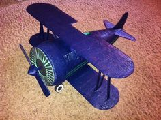 Custome made Vintage Airplane Pinata by Ranay