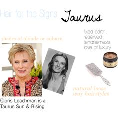 """""""Hair for the Signs Taurus"""" by expressingyourtruth on Polyvore"""
