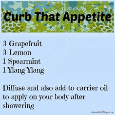 Curb That Appetite with essential oils  |  A Hip & Humble Life!