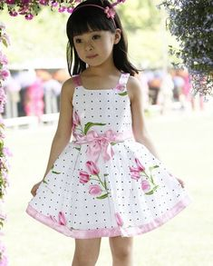 Cheap vestido infantil, Buy Quality fashion girl dress directly from China girls dress Suppliers: Girls dresses new fashion summer baby baby girl clothes kids flowers cotton dress clothes Vestido Infantil Baby Summer Dresses, Little Girl Dresses, Summer Girls, Girls Dresses, Kids Girls, Spring Summer, Baby Girls, Girls Fit, Fashion Kids