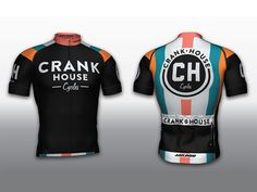 Just finished up the bike kit and identity design for CRANK HOUSE cycles in Austin TX.