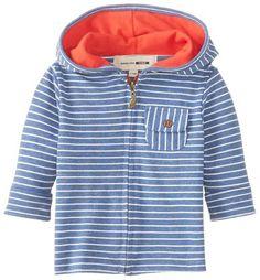 Babies Hang Ten Hoodie is so Nice... #baby #zipup #hoodie #blue #stripes