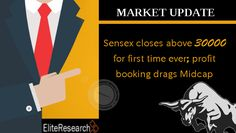 #Equity benchmarks continued to run up for third consecutive session Wednesday, with the #Sensex closing above the 30000 mark for the first time ever, backed by banking & financials, auto and FMCG #stocks.