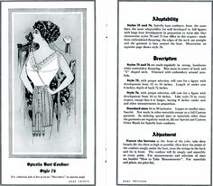 Spirella surplice-front brassiere from http://commons.wikimedia.org/wiki/File:SpirellaAccessories1913page12_13.png