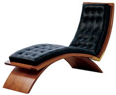 Thomas Moser Furniture vita line chaise Bali Furniture, Furniture Design, Furniture Ideas, Mid Century Style, Mid Century Design, Take A Seat, Love Seat, Sombre, Mid Century Furniture