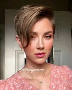 A Pixie 360 by Short Grey Hair allthingsneena Pixie Undercut Hairstyles Women, Short Hair Undercut, Short Pixie Haircuts, Short Hairstyles For Women, Pixie Hairstyles, Pixie Haircut Round Face, Pixie Cut For Round Face, Pixie Cut With Undercut, Short Asymmetrical Hairstyles